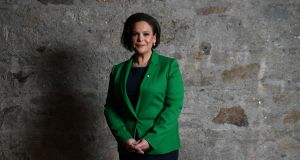 Mary Lou McDonald:   won a Dáil seat in 2011,  comfortably retaining it in 2016. Photograph: Reuters/ Clodagh Kilcoyne