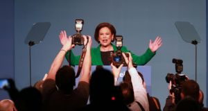 "Mary Lou McDonald:   ""I believe in reaching out,"" she said. ""I believe in standing my ground too."" Photograph Nick Bradshaw"