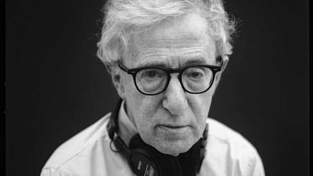 Woody Allen in Providence, Rhode Island in July 2014. Photograph: Damon Winter/The New York Times