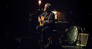 Glen Hansard received numerous standing ovations during his Royal Festival Hall debut on Friday. Photograph: Photo by Rob Ball/WireImage