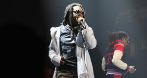 Underdog rhymers such as Atlanta's Migos broke out of a regional scenes to build an international fanbase. Photograph: Jerritt Clark/Getty Images for Rolling Stone