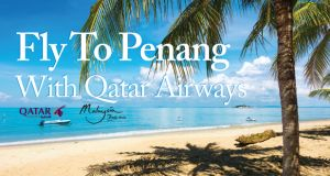 Win two return tickets, six night accommodation in the 5 star Eastern and Oriental Hotel Penang with Qatar Airways.