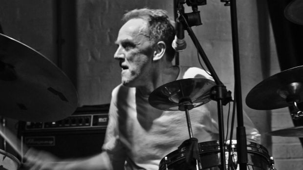 This Heat's drummer/singer Charles Hayward now back in the reformed entity This Is Not This Heat. Photograph: Lewis Hayward