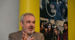 Colm O'Gorman, executive director of  Amnesty International Ireland which  has challenged an order by the Standards in Public Office Commission (Sipo) requiring it to return a €137,000 donation. File photograph: Alan Betson/The Irish Times.