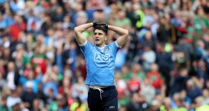 Surgery would rule out Bernard Brogan for the reason of the season: given he turns 34 in April, it would also likely bring the curtain down on his stellar intercounty career. Photograph: Inpho