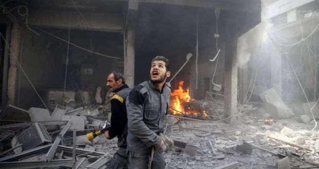 Syria experiencing 'worst fighting of the entire conflict