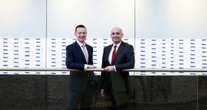 McCann FitzGerald managing partner Barry Devereux (right) said Brendan Slattery (left) would bring 'vast experience'.