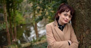 Jess Kidd, author, pictured in St. Stephens Green, Dublin. Photograph: Dara Mac Dónaill