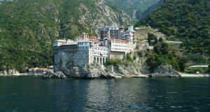 Mount Athos: the goal of John Joyce's journey