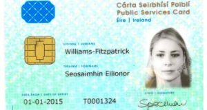 The Department of Social Protection said 88 per cent of the total free travel customers had a public services card at the end of last year. Photograph: Bryan O'Brien