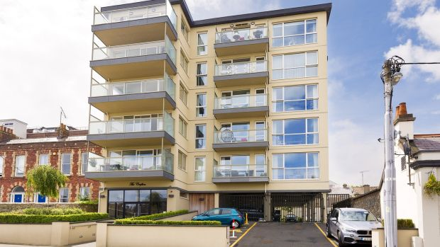 23 The Crofton, 16-18 George's Place, Dún Laoghaire: this two-bed, two-bath penthouse measures 82sq m and has views spanning Dublin Bay.