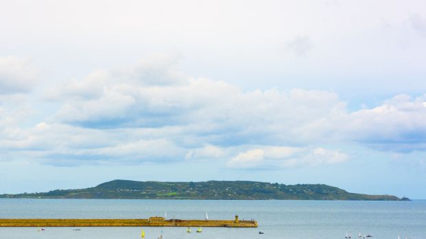 The view to Howth from 23 The Crofton, 16-18 George's Place, Dún Laoghaire.