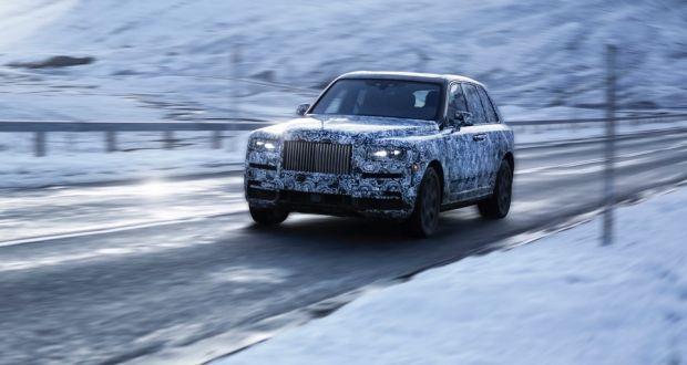 Rolls Royce Suv Gains A Glittering Name