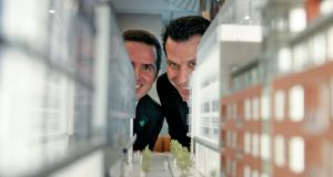 IDA Ireland chief executive Martin Shanahan and Andrew Anagnost, chief executive of design software group Autodesk