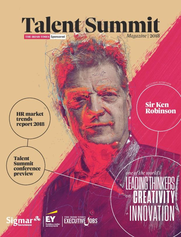 Talent Summit magazine is available in The Irish Times on Friday, February 16th