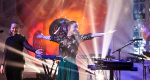 Sigrid, winner of BBC's Sound of 2018, performing at Other Voices. Photograph: Rich Gilligan