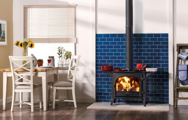 A wood-burning stove from Fenton Fires