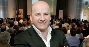 Sean Gallagher: Nutriband's new president was an investor on the RTÉ series Dragons' Den