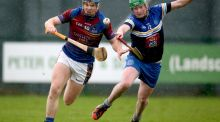 Jason Forde (L) helped UL to victory over IT Carlow. Photograph: Dan Sheridan/Inpho