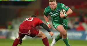 Finlay Bealham of Connacht in action against Munster at Thomond Park, Limerick. File photograph: ©INPHO/James Crombie