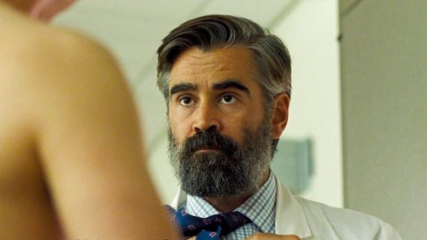 Colin Farrell, nominated for 'The Killing of a Sacred Deer'