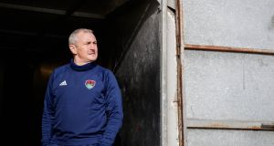 Cork City manager John Caulfield is unhappy with the TV coverage League of Ireland clubs are recieving. Photograph: Ryan Byrne/Inpho