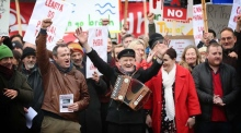 Tory Islanders bring their ferry protest to Leinster House