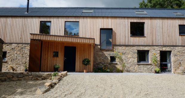 The Co Down 'long house' that featured on the C4 show 'Grand Designs'.