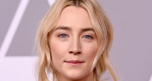 Saoirse Ronan attends the 90th Annual Academy Awards Nominee Luncheon in Beverly Hills, California, the US. Photograph: Kevin Winter/Getty Images