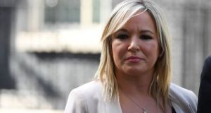 "Michelle O'Neill:  ""We had reached an accommodation with the leadership of the DUP. The DUP failed to close the deal. They have now collapsed this process"""