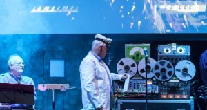 The Radiophonic Workshop in concert at London Electronic Arts Festival. Photograph: VictorFrankowski/LEAF