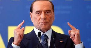 "Silvio Berlusconi: Despite his political departure in 2011 following a sex scandal and fraud conviction, he has re-emerged as ""Italy's kindly granddad"". Photograph: Remo Casilli/Reuters"