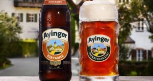 Ayinger beers have become a bit of a cult hit in the US
