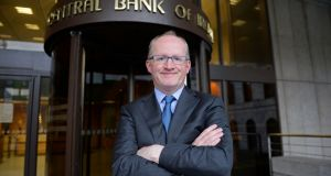 Central Bank  governor Philip Lane, pictured on his first day in office in November 2015. Photograph: Eric Luke/The Irish Times