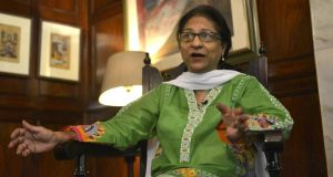 Asma Jahangir: her greatest ire was reserved for religious extremists and military dictators. Photograph: Arif Ali/AFP/Getty Images