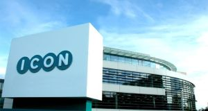 Icon's headquarters at Leopardstown in Dublin: the company is a global provider of drug development solutions and services