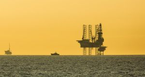 North Sea gas: wholesale prices fell 10 per cent in January. Photograph:  Frans Lemmens/Corbis/Getty
