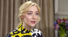 Saoirse Ronan on her Oscar nod and the Time's Up movement