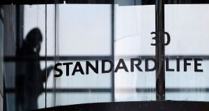 Standard Life Aberdeen said it would take a £40 million charge against intangible assets related to the contract with Lloyds. Photograph: Reuters