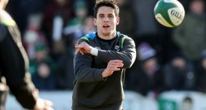 """Carbery is a wonderfully talented player – possibly the most talented in the Irish squad – but...?"" Photograph: Billy Stickland/INPHO"