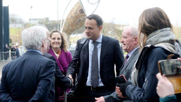 Taoiseach Leo Varadkar in Sligo for a special Cabinet meeting after which the Government published Project Ireland 2040: the National Planning Framework and the 10-year National Development Plan. Photograph: The Irish Times