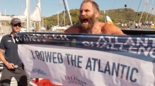 'Never give up': Damian Browne completes mammoth solo Atlantic row