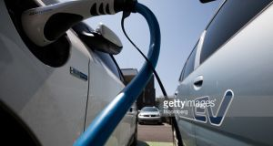 The Government wants one third of the State's private transport fleet to be electric by 2030. Photograph: Getty