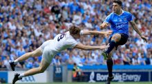 Bernard Brogan: his experience and guile invaluable  when Dublin  need a forward whose brilliance lies in turning a match on nothing moments. Photograph: Donall Farmer/Inpho