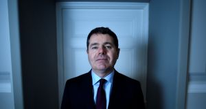 Minister for Finance Paschal Donohoe: with big increases in State investment spending planned for 2019 and 2020, further tax cuts and more day-to-day spending may push the economy into overheating. Photograph:  Clodagh Kilcoyne