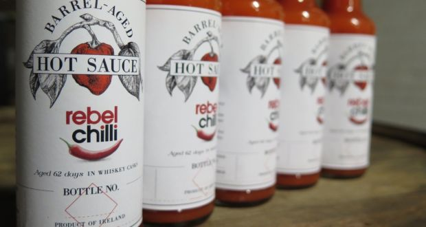 Rebel Chilli's limited edition barrel-aged hot sauce goes on sale today