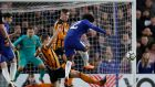 Chelsea's Willian was the man of the match in their win over Hull City. Photograph: Eddie Keogh/Reuters