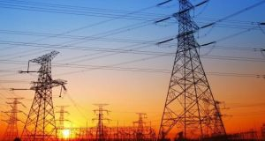 It is clear that despite pockets of local opposition to electricity pylons, the Government expects EirGrid to press ahead with the cross-border interconnector. Photograph: iStock