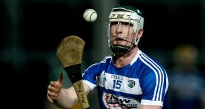 Ross King scored 16 points for Laois in the win over Antrim at  O'Moore Park. Photograph: Tommy Dickson/Inpho