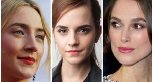 Saoirse Ronan, Emma Watson and Kira Knightley are among the almost 200 signatories of an open letter calling for equality and the end of sex harassment.